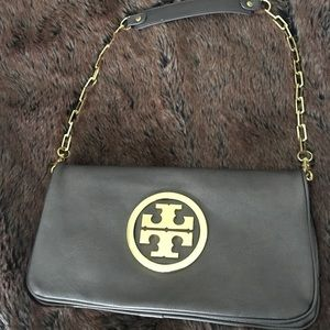Handbags - Tory Burch-style purse in bronze